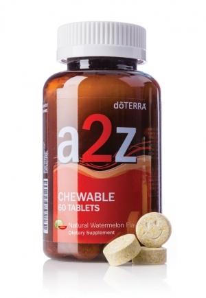 "Витаминная добавка для детей от 4-х лет ""от А до Я"" | A2Z Chewables doTERRA (со вкусом арбуза)"