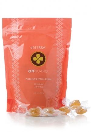 Леденцы с эфирными маслами для защиты горла  от вирусов «На страже» | On Guard Protecting Throat Drops doTERRA 30 шт