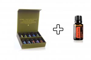"""Регистрационный набор  эфирных масел """"семейный доктор""""    Family Essentials Kit doTERRA 10*5 мл. + Slim and Sassy 15 мл. в подарок"""