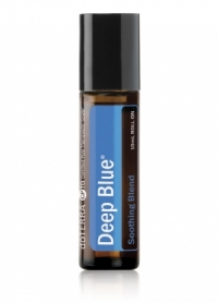 "Болеутоляющая смесь эфирных масел в роллере ""Глубокая синева"" 